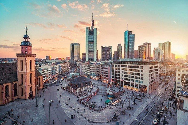 страны архитектура Франкфурт-на-Майне Германия  № 1468015 загрузить
