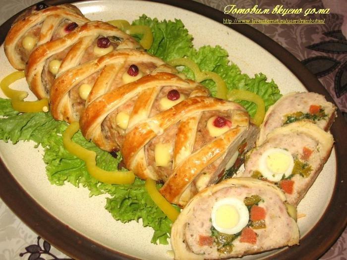Вторые блюда на праздник рецепты пошагово 4