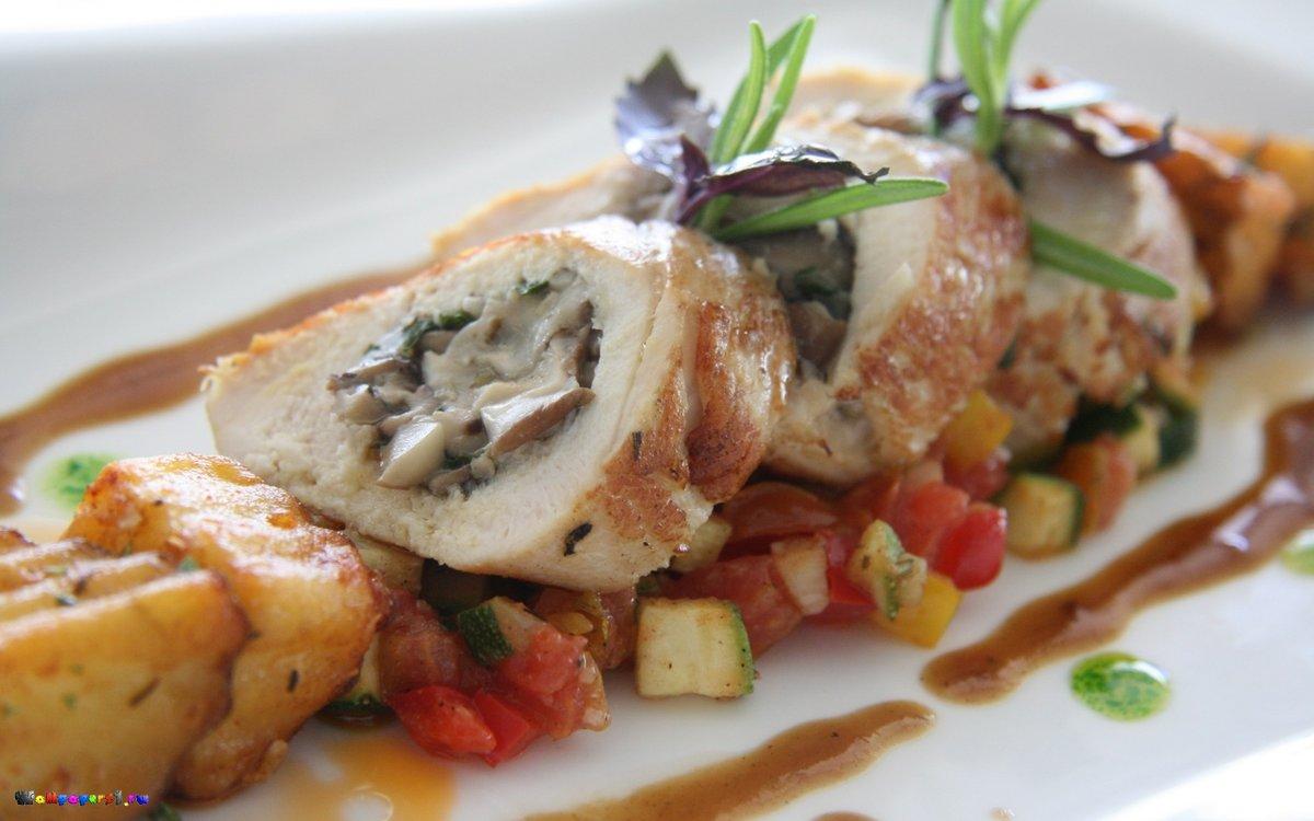 Блюда из ресторана рецепты из курицы