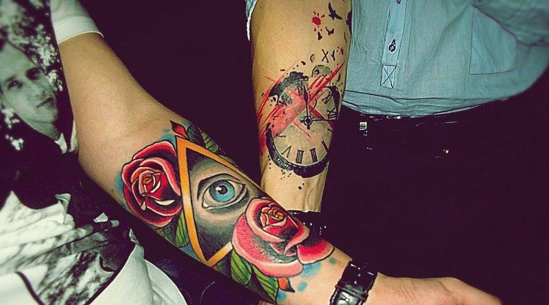 Тату татуировок на руках