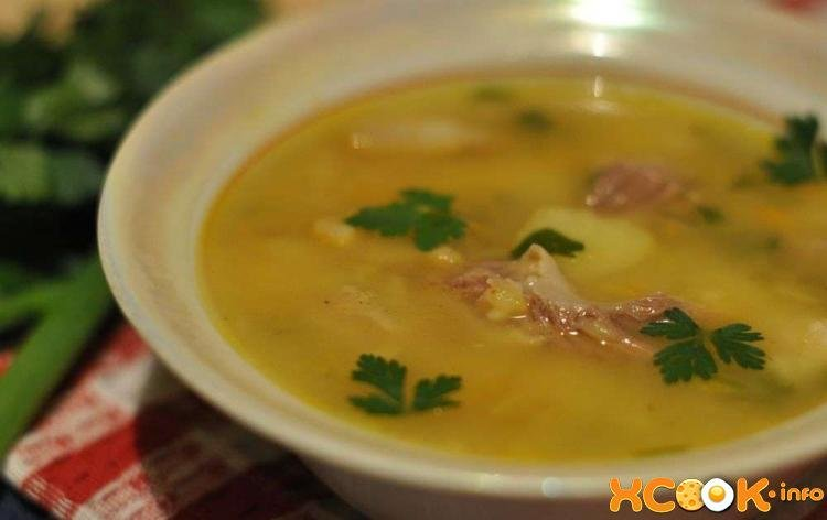 Гороховые супы рецепты простые и вкусные 166