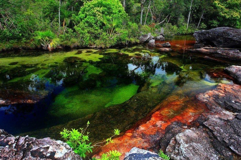 Очень красивые места на планете где природа не пожалела красок