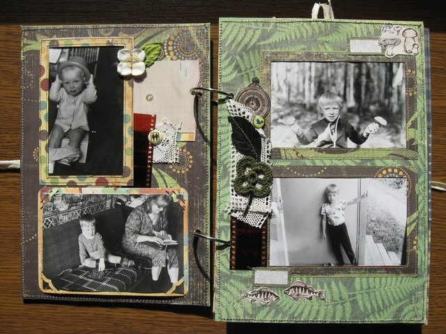 Оформление старого фотоальбома своими руками 42