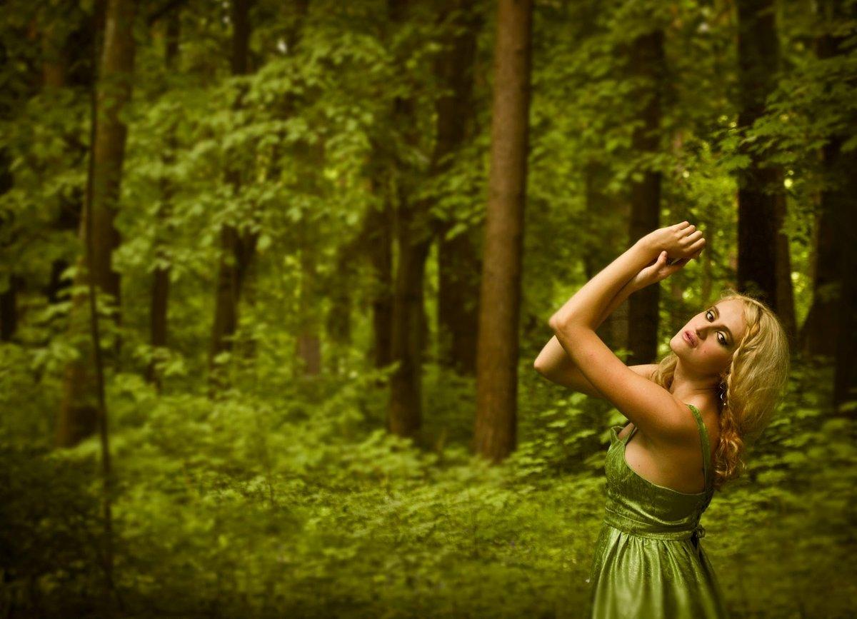 Как сделать красивые фото в лесу летом