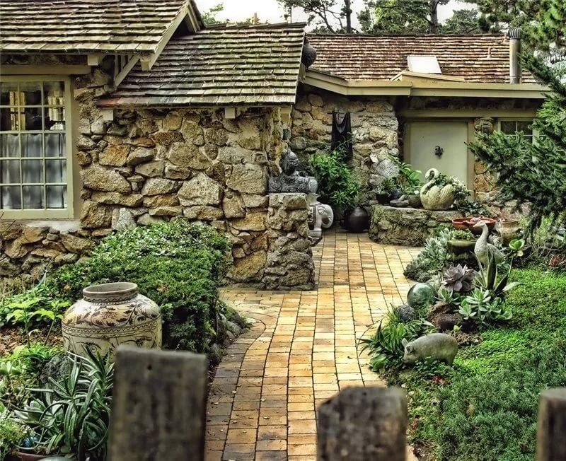Дом из камней своими руками 43