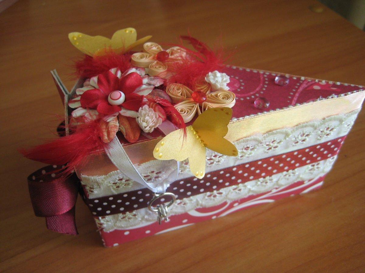 Как украсить подарок на день рождения своими руками 53