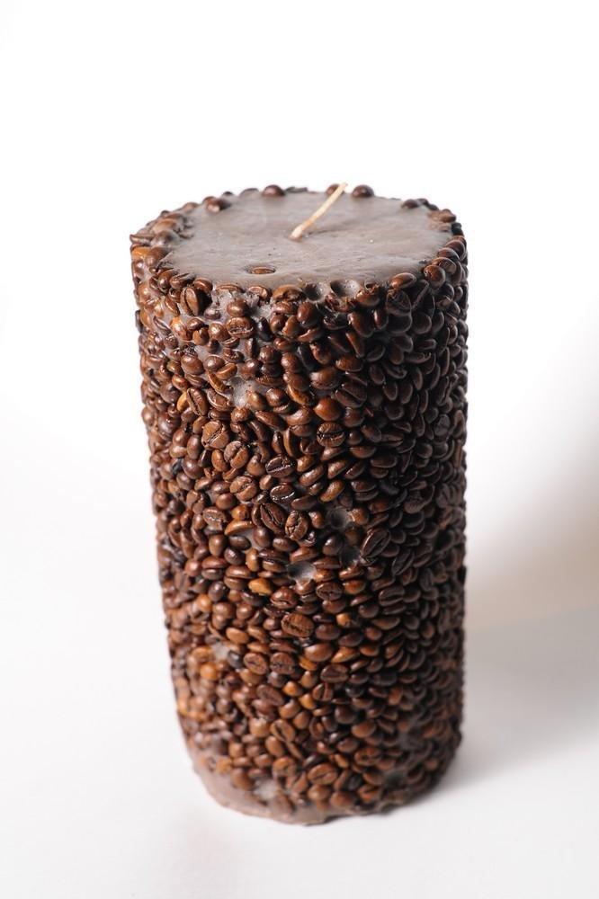 Кофейные свечи своими руками 18