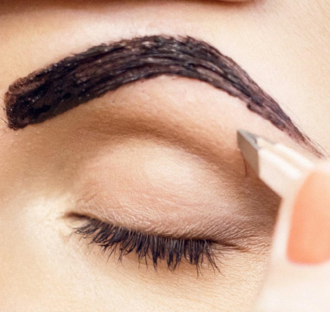 Как правильно покрасить брови хной в домашних условиях фото пошагово