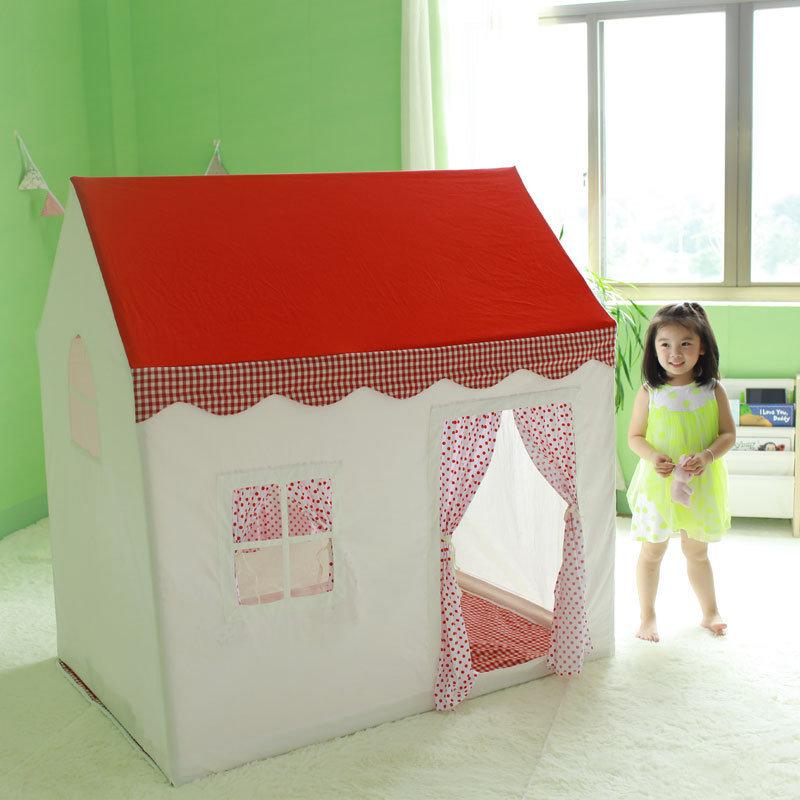 Детский домик-палатка своими руками 52