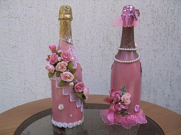 Чем украсить бутылку красиво своими руками