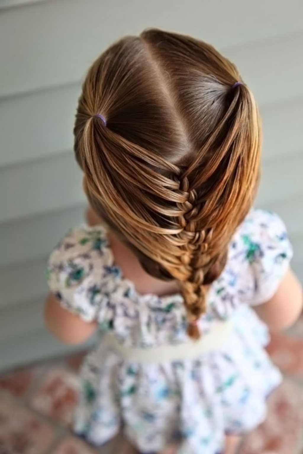 Красивые причёски детям фото
