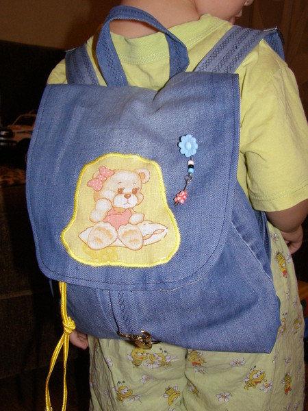 Сшить рюкзак для ребёнка 93