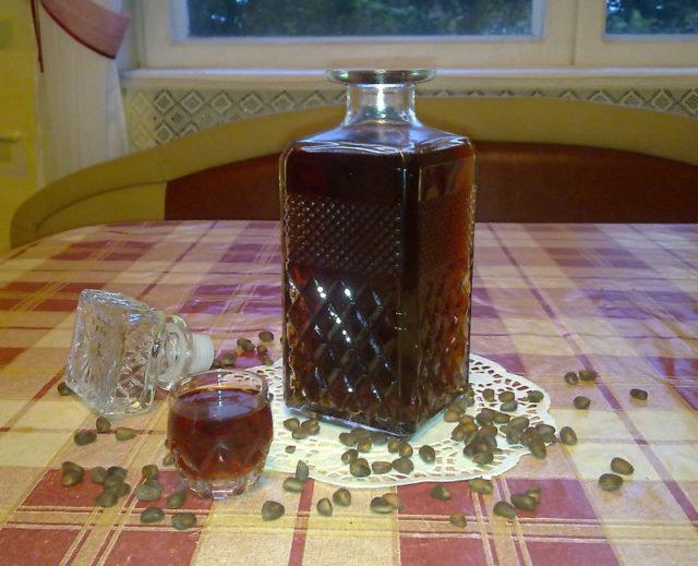 Спирт на кедровых орешках рецепт в домашних условиях 5