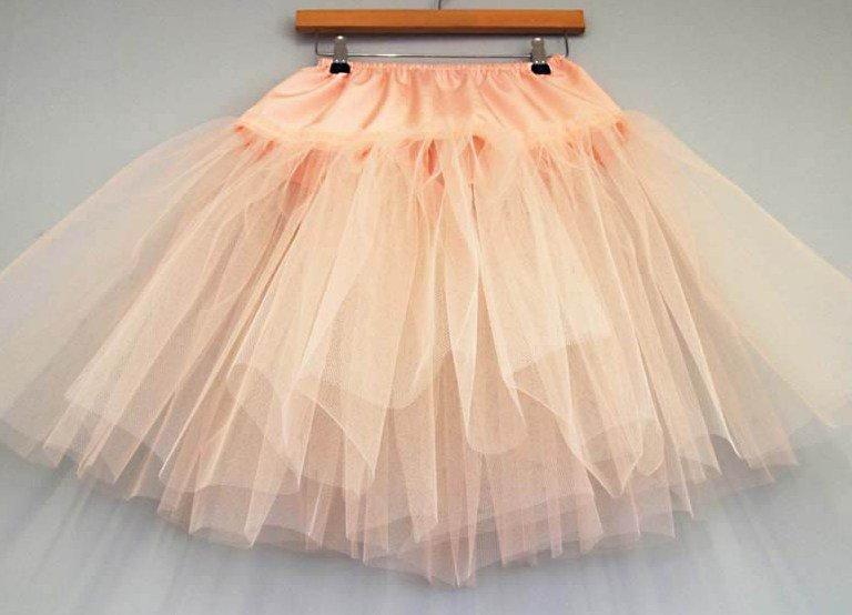 Как сшить детский подъюбник для пышного платья 32