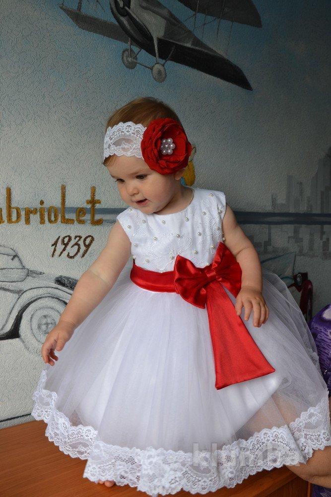 Пышное платье на годик девочке сшить 63