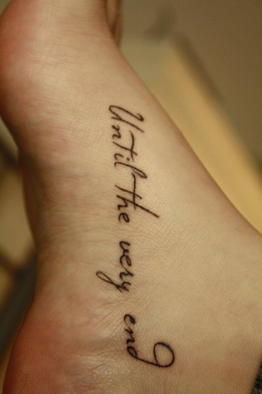 Надпись тату со смыслом для девушек с переводом фото