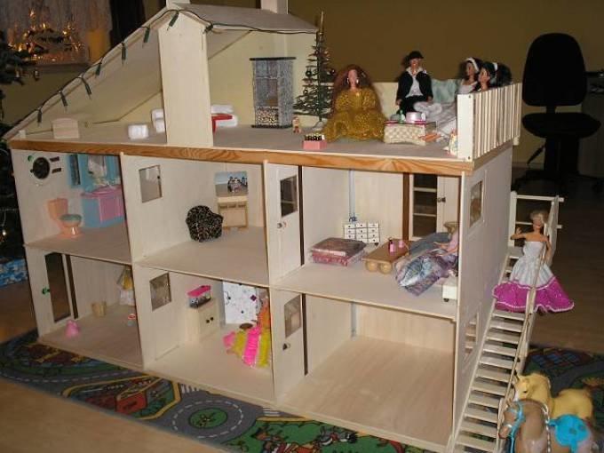 Кукольный домик своими руками идеи