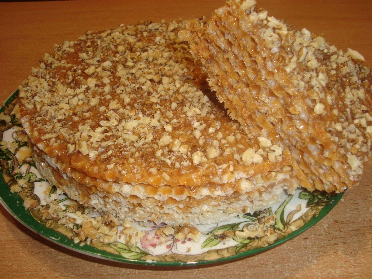 Рецепт вафельных коржей для тортов в домашних условиях