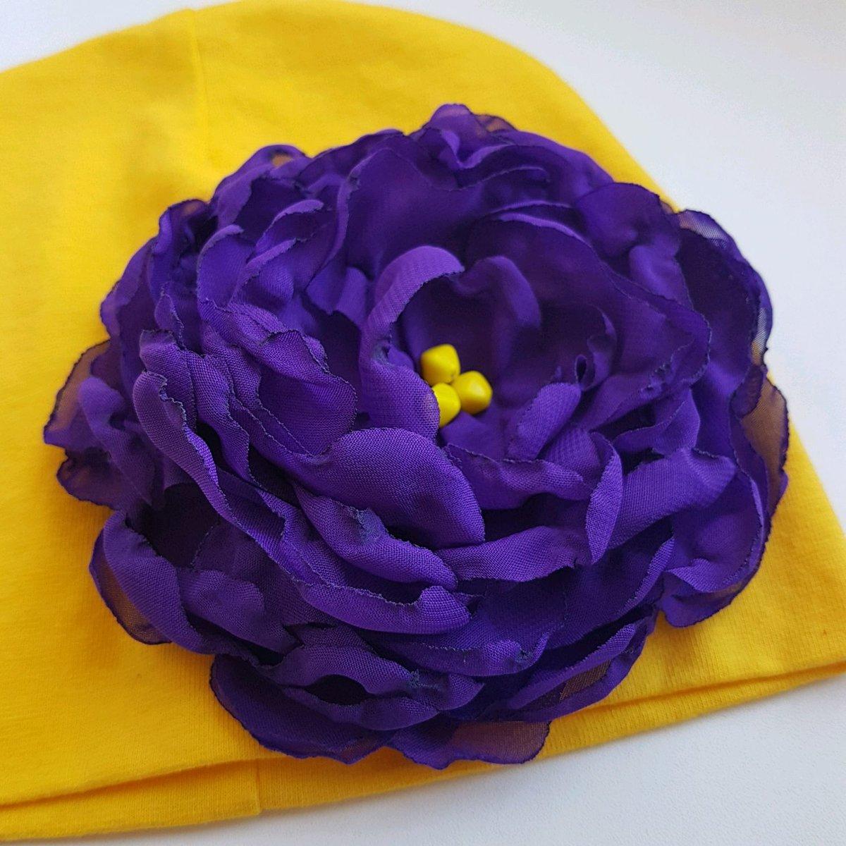 Цветок на шапке своими руками 67