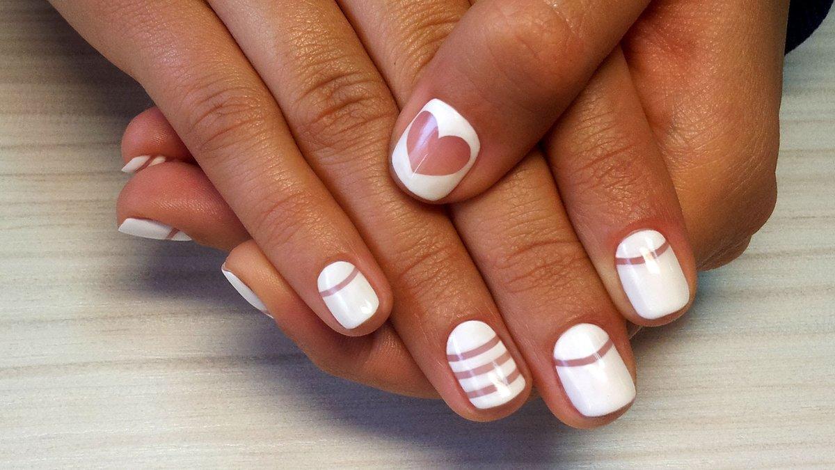 Дизайн коротких ногтей новинки