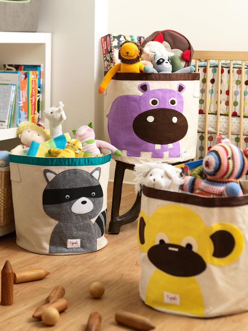 Ящики для хранения игрушек своими руками. Фото-обзор Идеи для детской