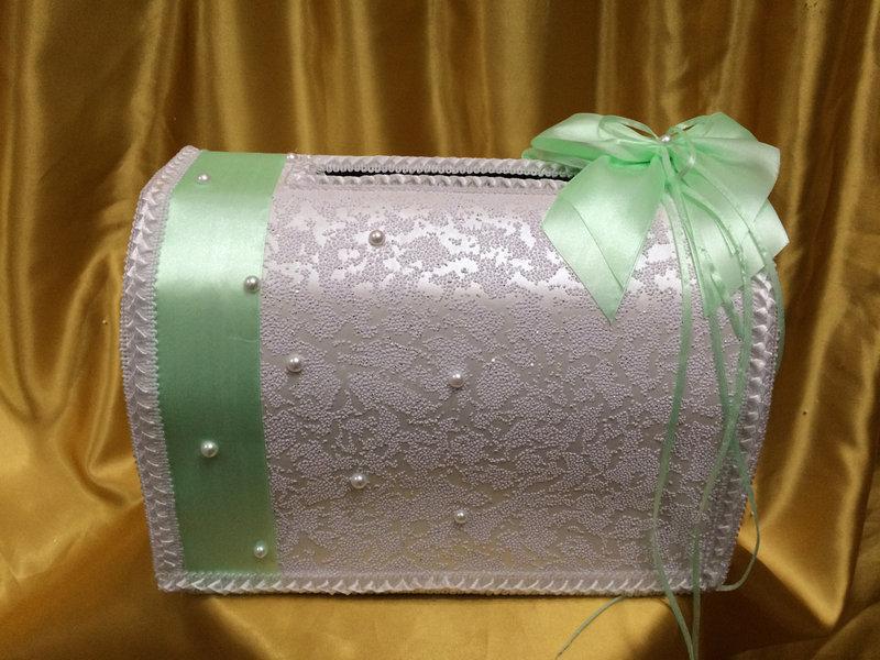 Коробка для собирания денег на свадьбу своими руками 11