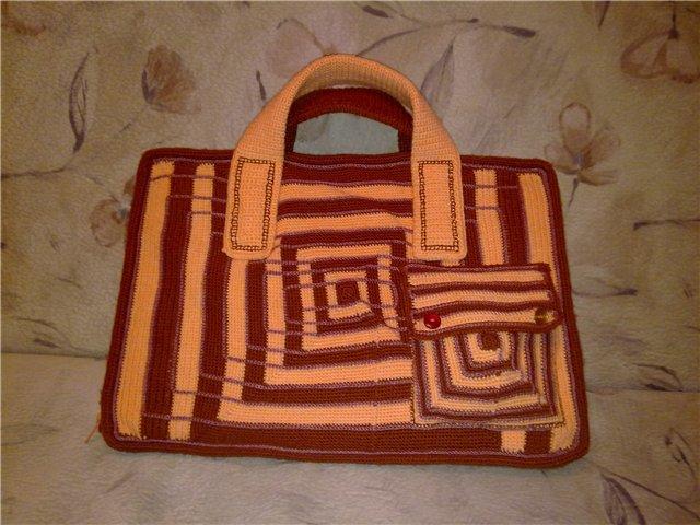Вяжем сумки для ноутбука