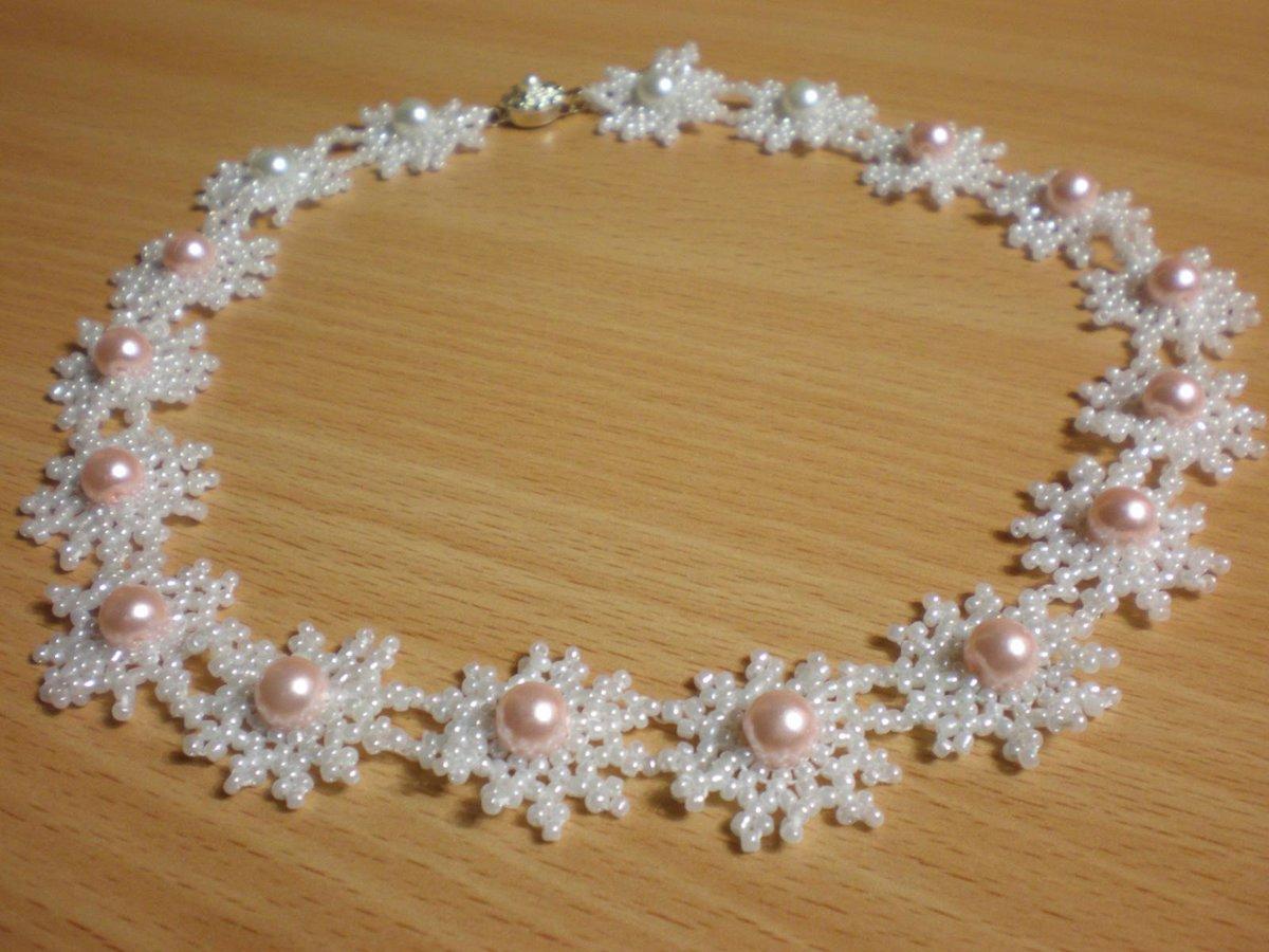 Ожерелье из бисера своими руками мастер 49