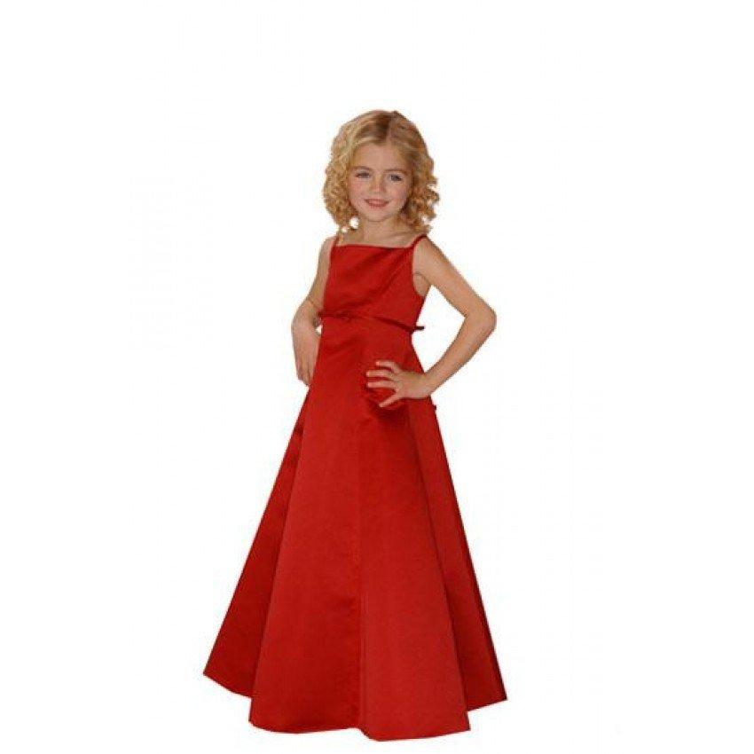 Длинное платье для девочек своими руками