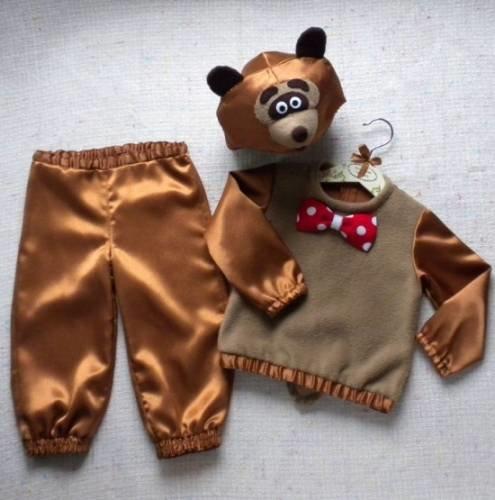 Костюм медведя своими руками