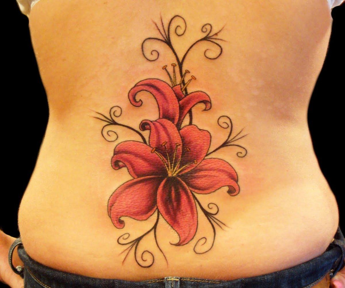 50 идей для маленьких красивых татуировок для девушек 76