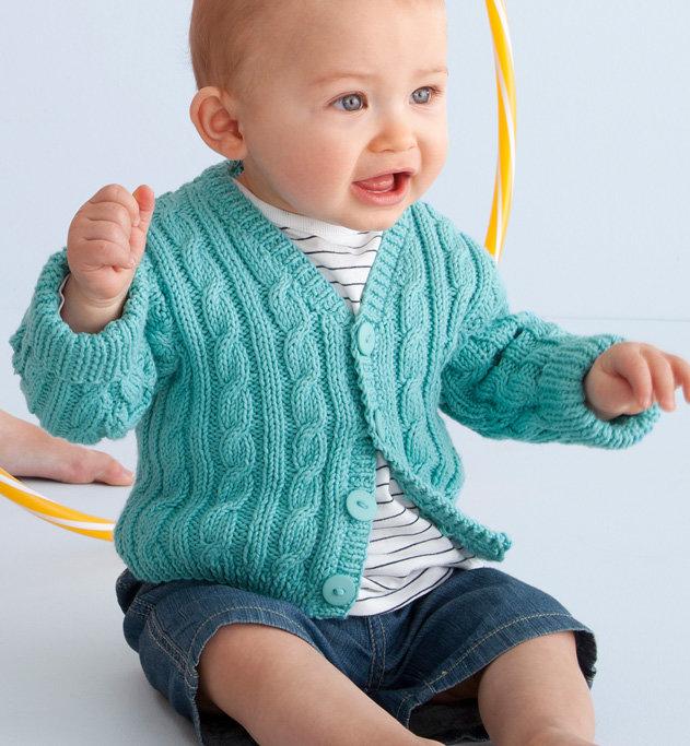 Вязания кофточек для деток 305