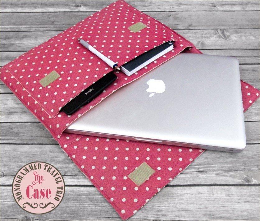 Как сшить чехол на ноутбука