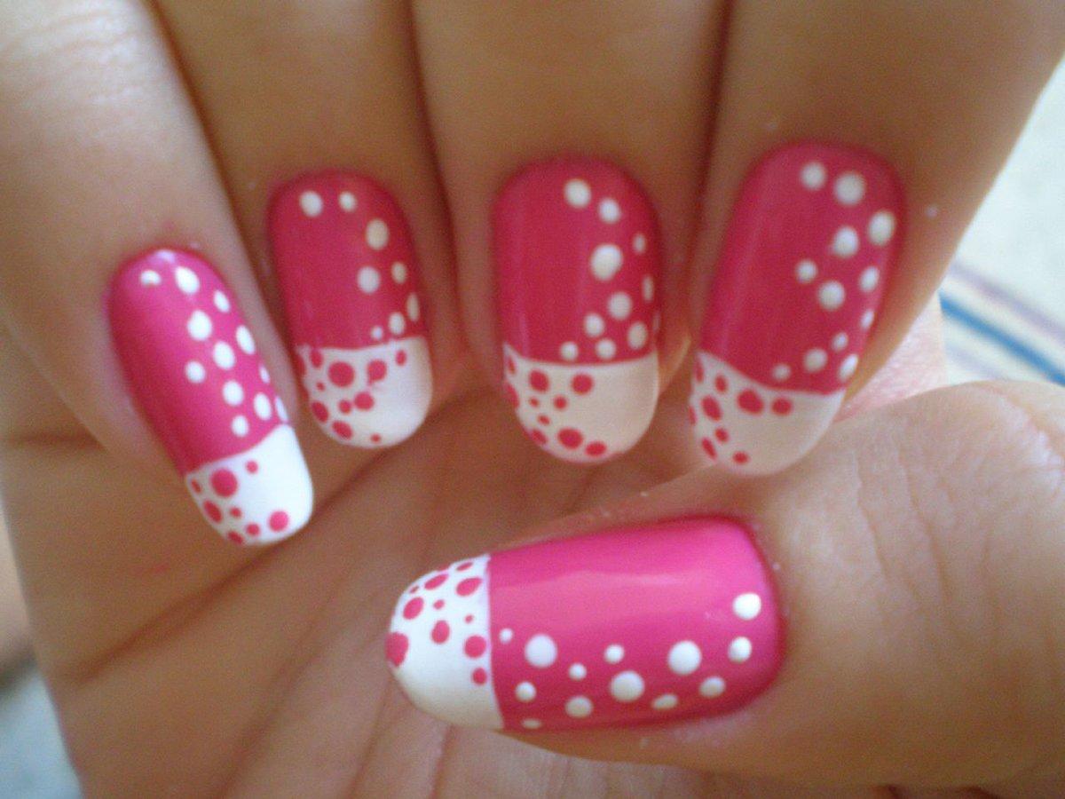 Красивый дизайн на ногтях в домашних условиях