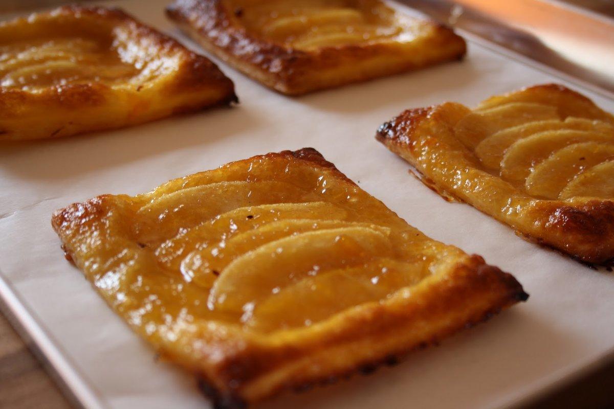 Пирог с яблоками на слоеном тесте рецепт в духовке