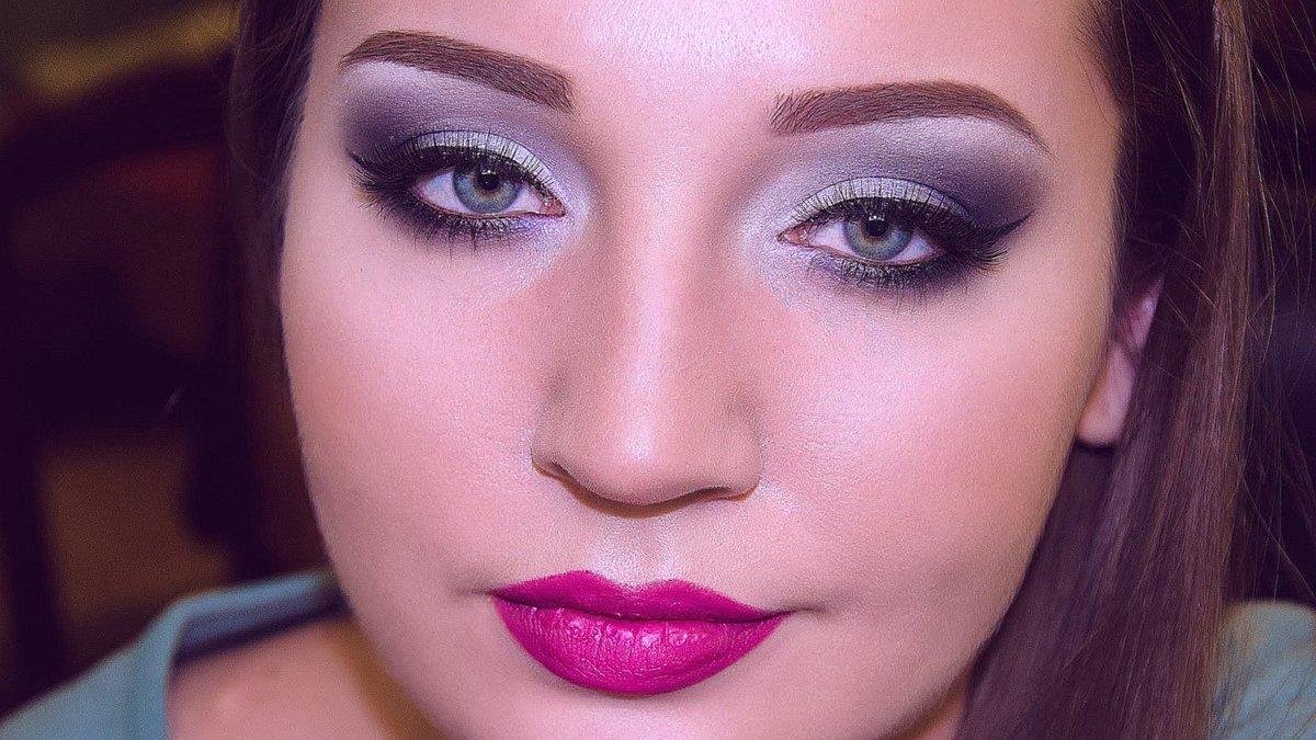 коррекция треугольного лица с помощью макияжа фото