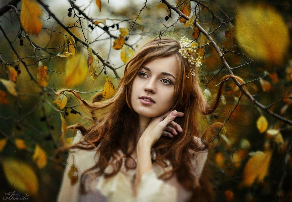 Макияж на фотосессию на природе осенью