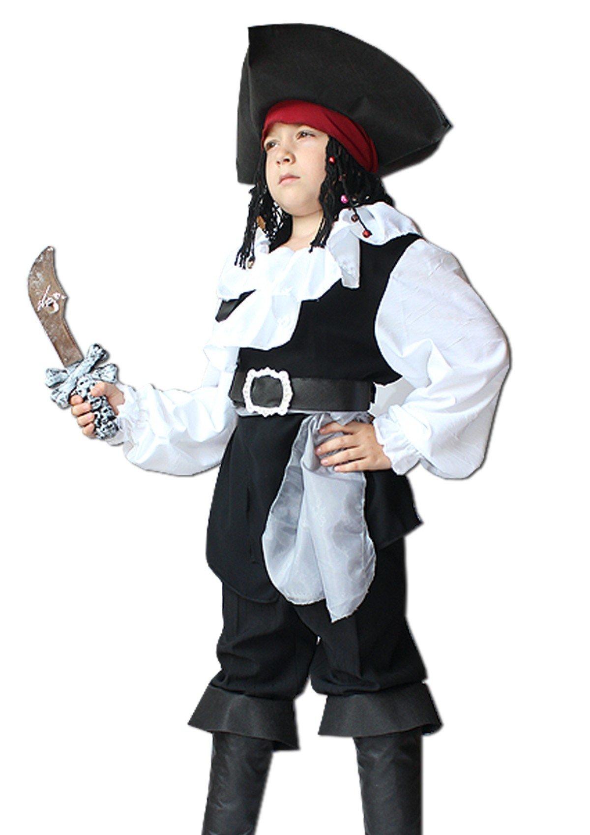 Новогодний костюм разбойника для мальчика своими руками