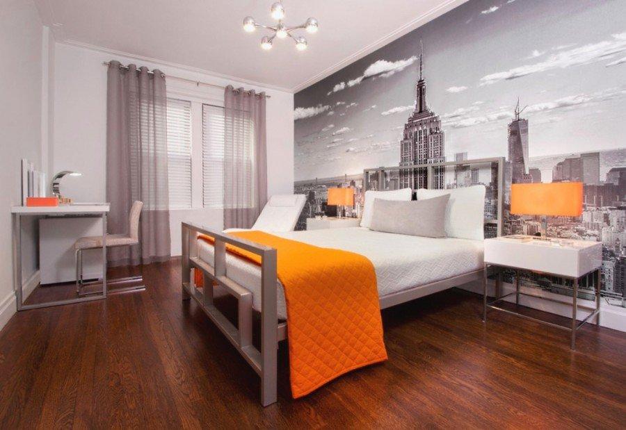 Дизайн спальни с фотообоями фото своими руками 16