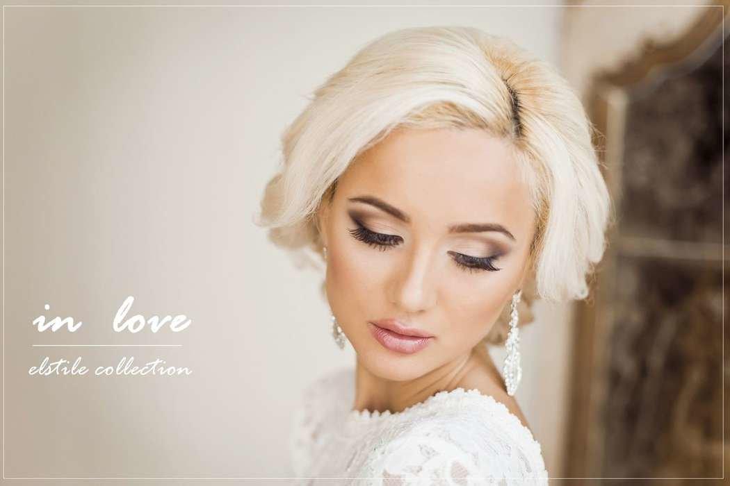 Макияж невесты фото для блондинок