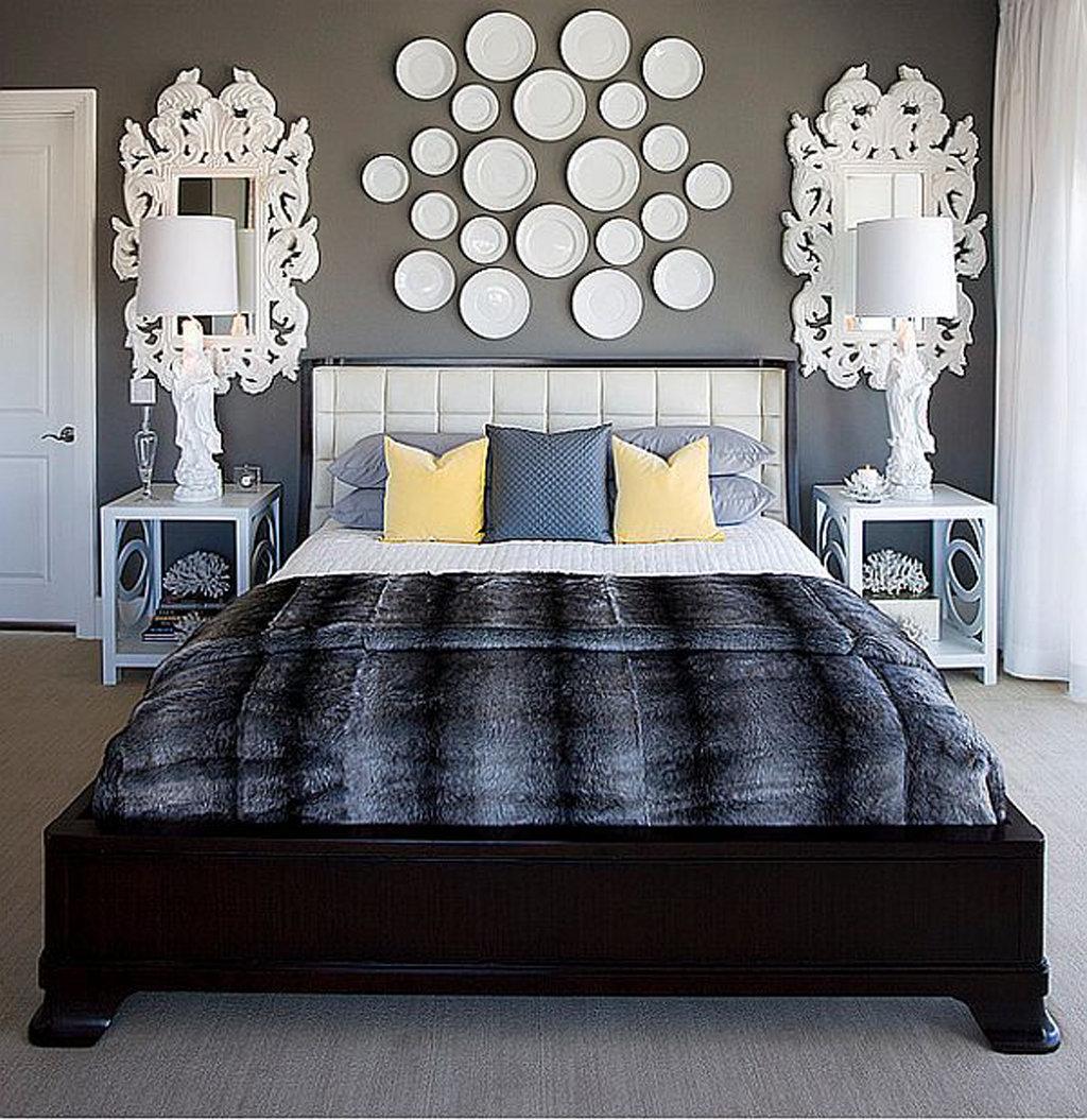 Декорирование спальни своими руками фото