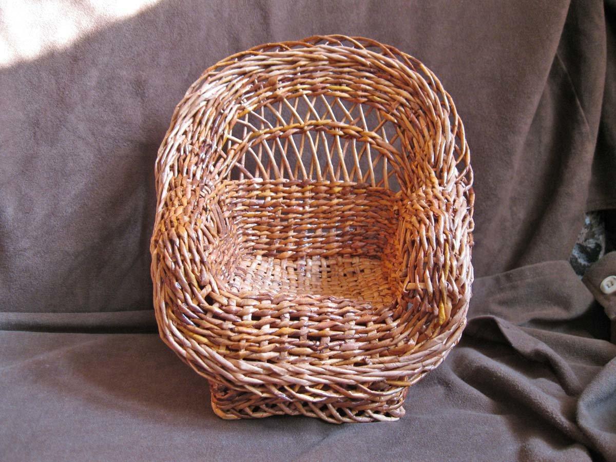 Плетение из газетных трубочек для начинающих - пошаговый мастер-класс 66