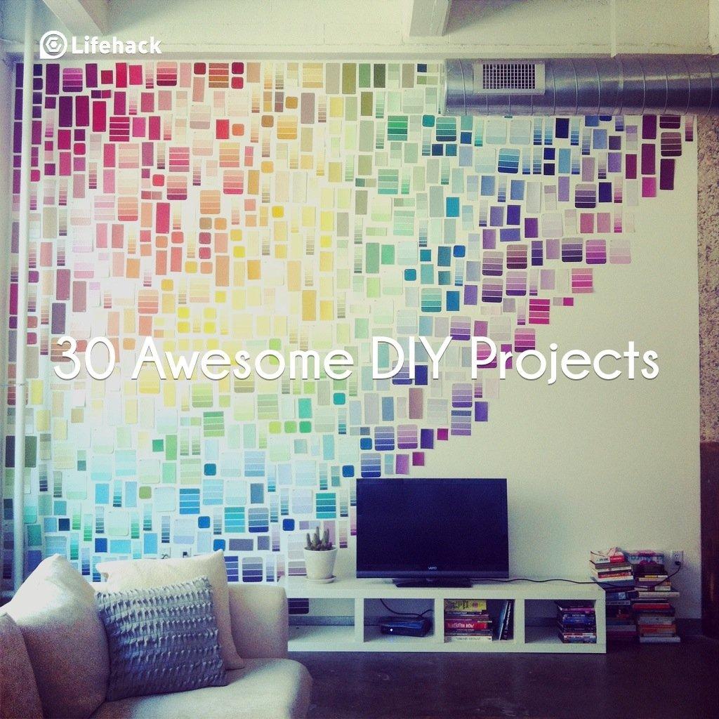 Декор комнаты своими руками - 12 лучших идей, красивый декор 21