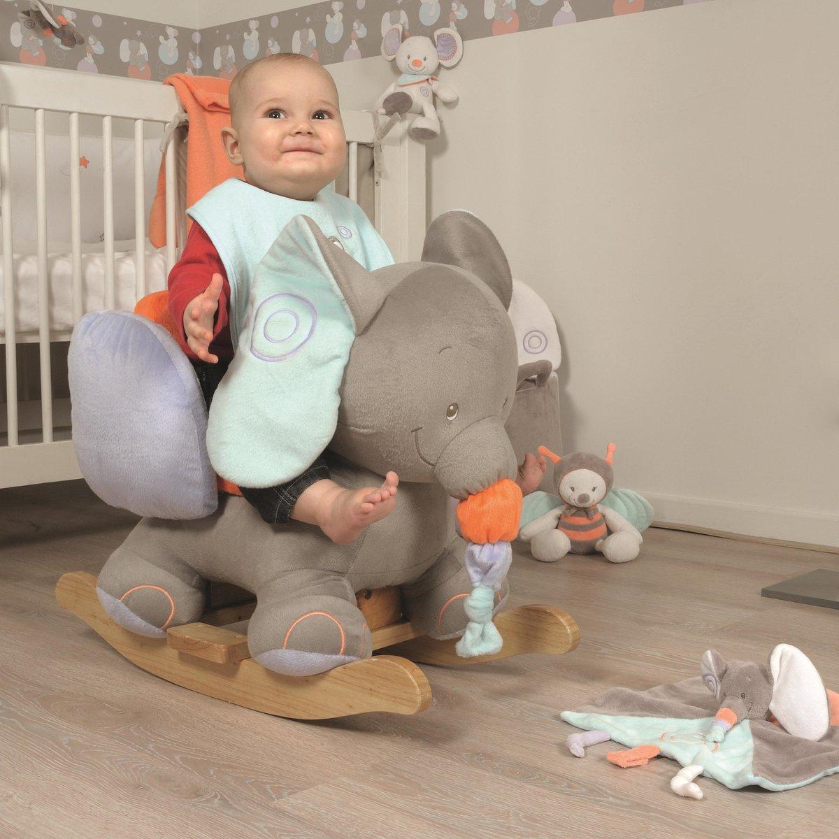 Игрушка качалка для детей от 0 до 3 лет фото