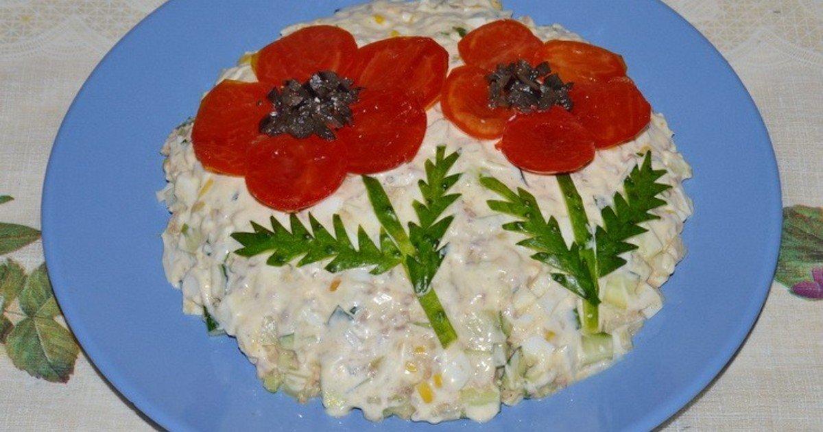 Простой салат стол рецепты