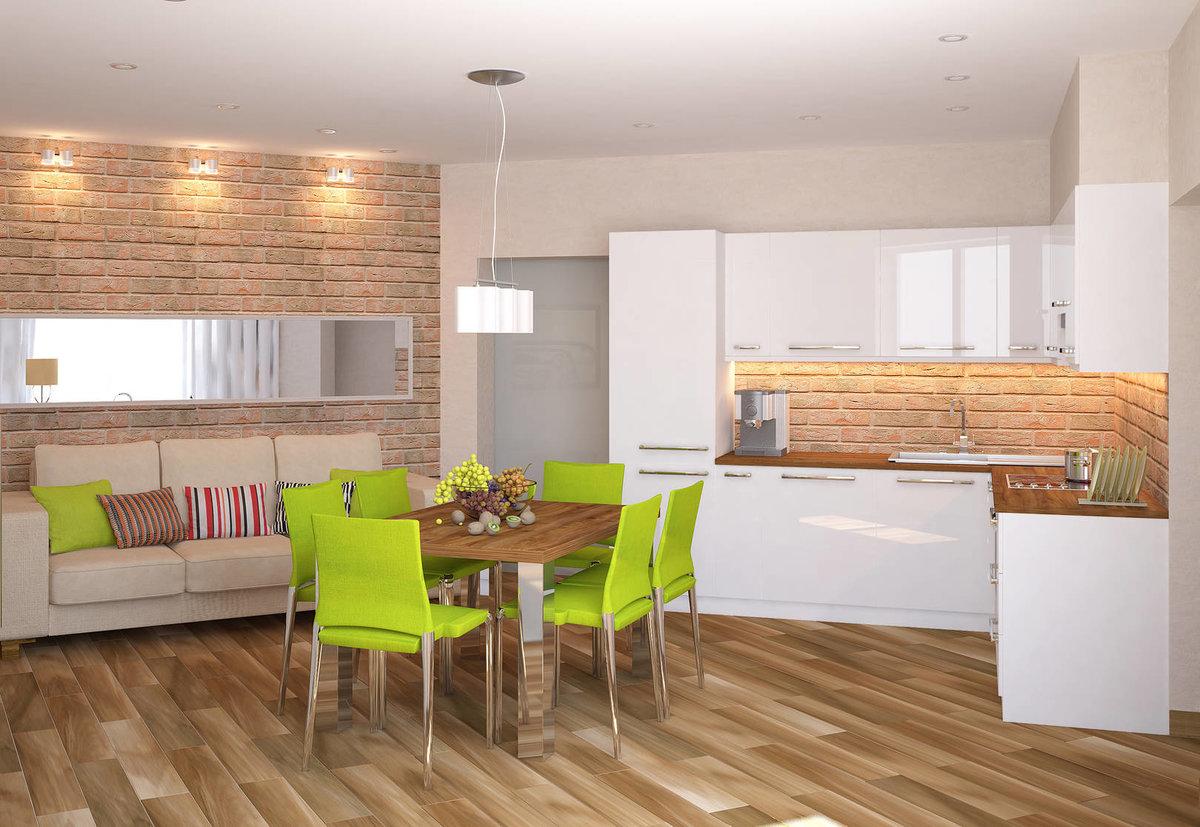 Дизайн кухни-столовой современные идеи