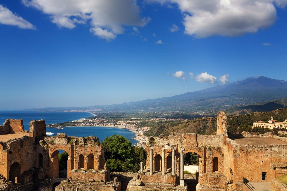 Foto mare sicilia taormina 96