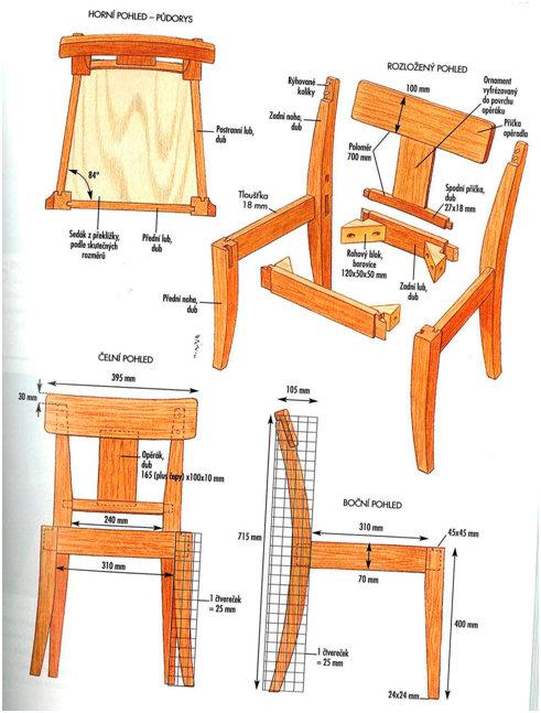 Деревянные стул кресло своими руками 14