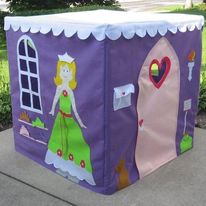 Палатка для ребенка своими руками из ткани 97