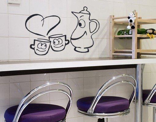Рисунки на стенах кухни своими руками фото 31
